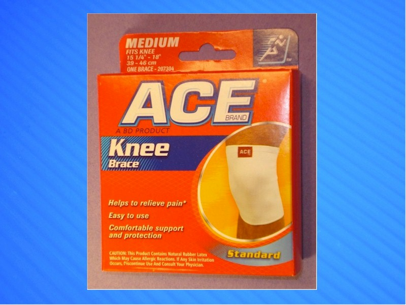Ace Knee Brace in package