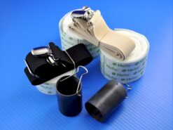 The Canister Kit includes 2 months worth of tape and day and night straps.
