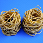 Pack of 100 #16 Rubber Bands for TLCX