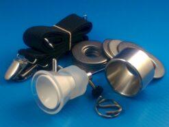 KVLCHW - venltess Hanger kit with weights