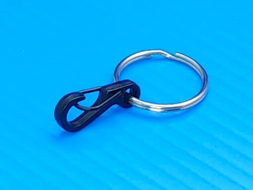 Mini Carabiner with Valet Ring