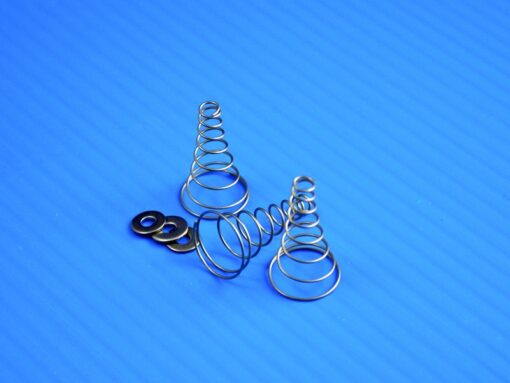 3 Conical Springs and Washers for TLC-X