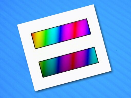Rainbow Equal Sign HRC Support Sticker