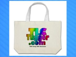 Zazzle lets you personalized high-quality tote bags